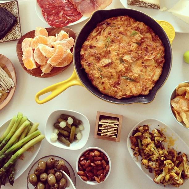 Tapas and sangria
