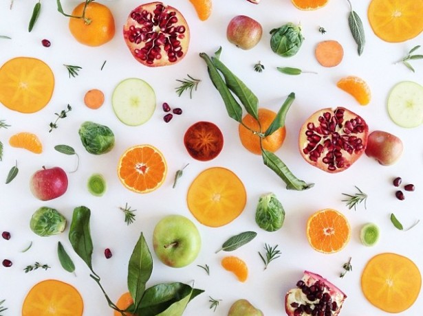1214Seasonal Food Collages for Free People + New Print