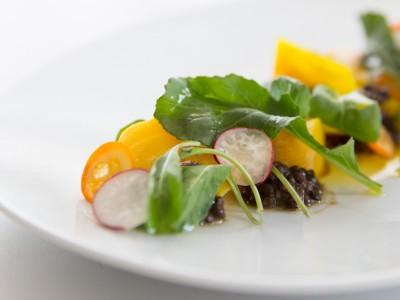 1397Recipe: Golden Beet and Black Lentil Salad with Sherry Vinaigrette