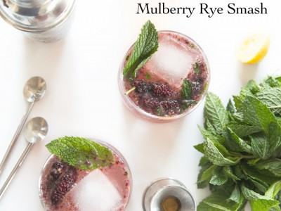 1403Recipe: Mulberry Rye Smash