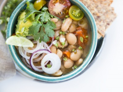 1510Recipe: Basic Crock Pot Ayocote Blanco Beans