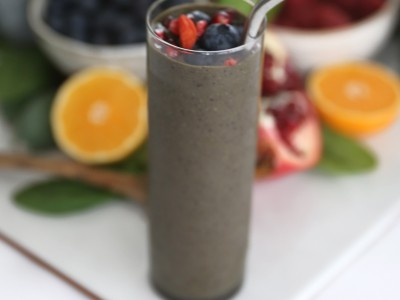 1631Recipe: Superfood Green Smoothie + a Timed Challenge