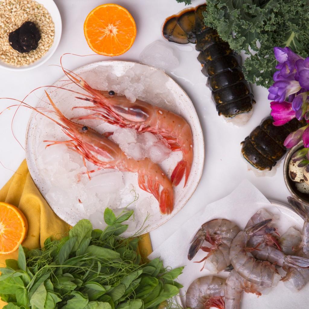 Santa Barbara Spot Prawns from Julie's Kitchen www.julieskitchen.me