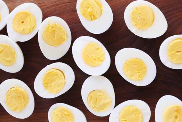 Recipe for Caesar deviled eggs from Julie's Kitchen http ...