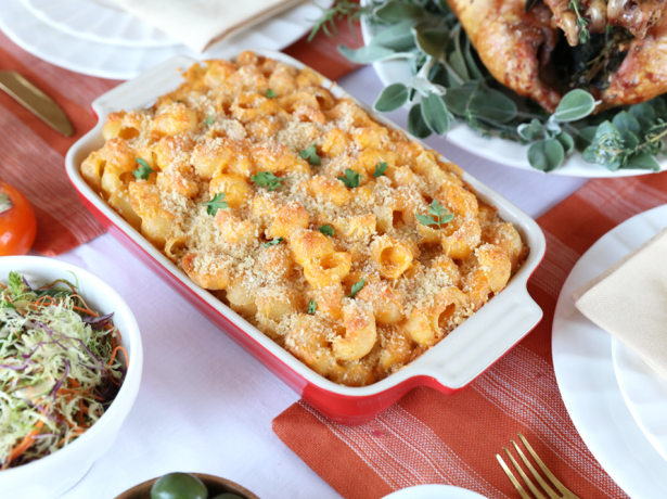 2074Recipe: Baked Sriracha Mac and Cheese