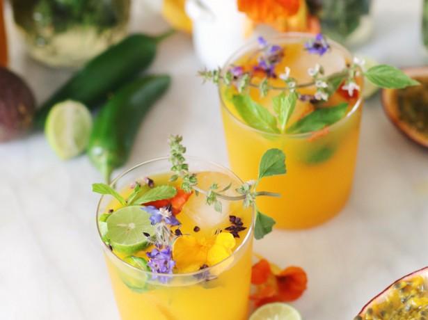 2212Smokey Passion Fruit Mezcal Cocktails