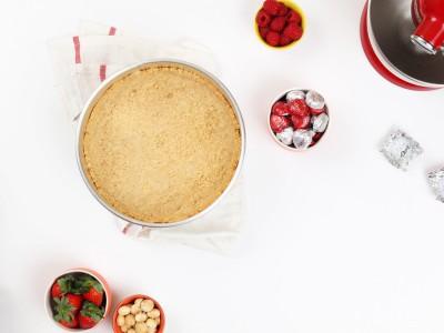 2263Recipe: Silky Smooth Chocolate Torte with Macadamia Nut Crust