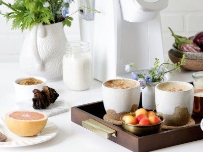 2285Recipe: Reishi-chaga Coffee with Macadamia Creamer